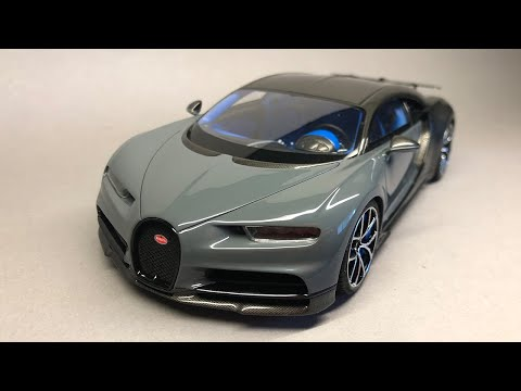 Alpha Model: Bugatti Chiron Full Build Step by Step