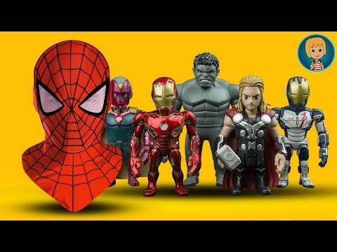 Gertit in Shopping for Spider Man and Iron Man Mask Toys  Gertit Toys  Jumbo Shopping Day