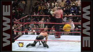 Chyna gives Jim Neidhart a low blow: Raw, Nov. 24, 1997