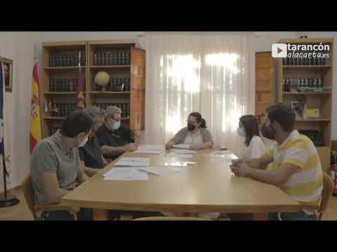 Pleno Ordinario del Ayuntamiento de Fuente de Pedro Naharro (24 de Junio de 2021)