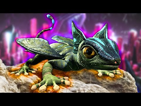 ARK: Survival Evolved - NEW MINI DRAGON?! (ARK Aberration)