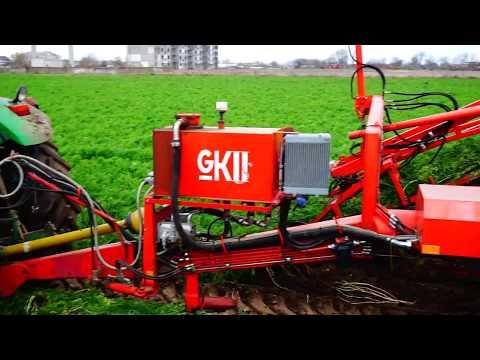 Уборка комбайном   Морковь Боливар F1   фермерское хозяйство Грин Тим