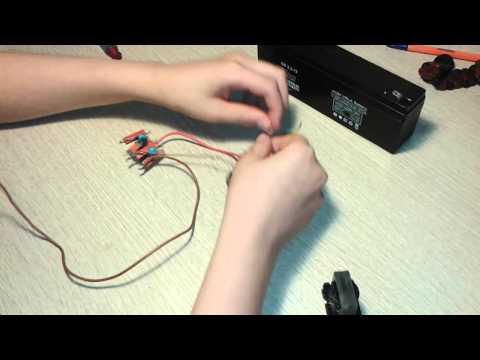 видео: как сделать электрошокер