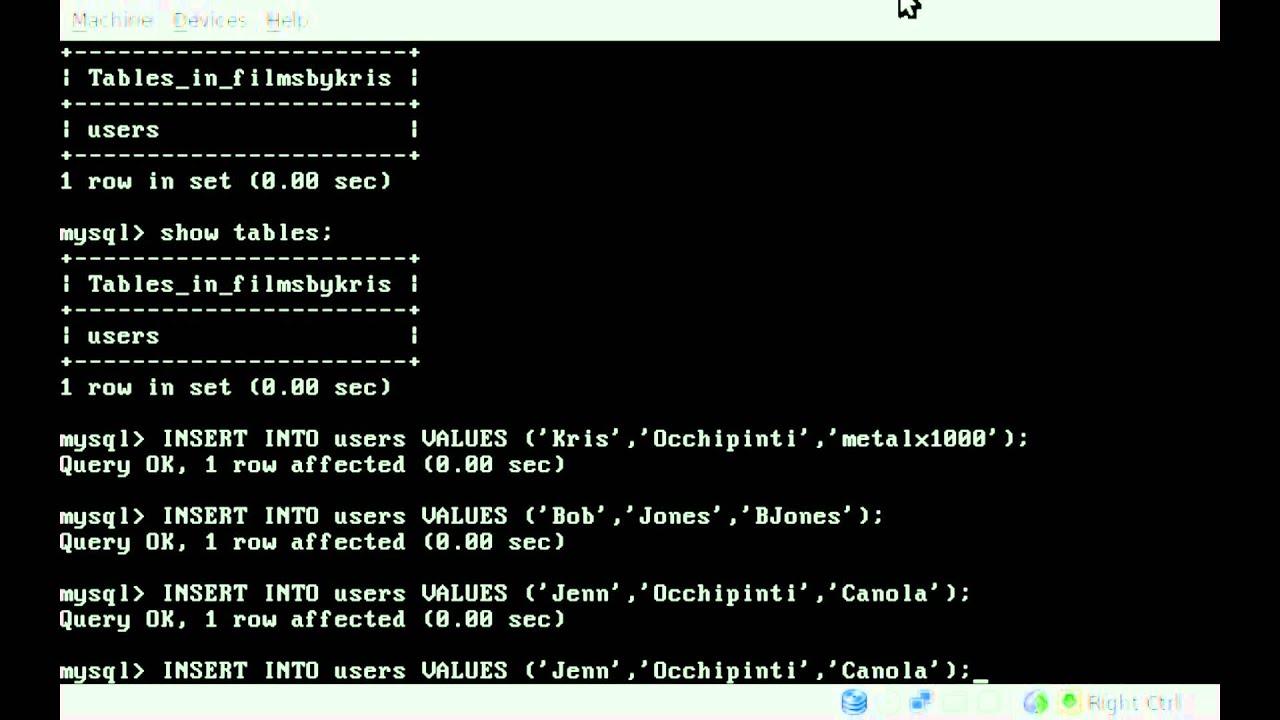 how to add tables into mysql xampp