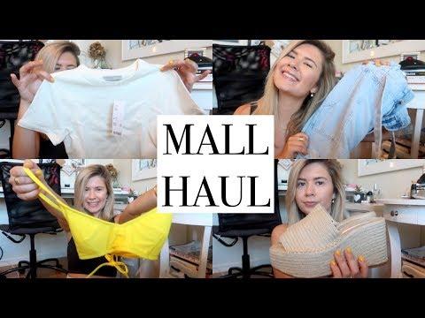 HUGE MALL HAUL (zara, sephora, urban outfitters)