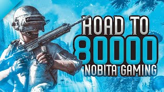 ||Nobita Gaming Live || DAY419 || Road To 80000 Subs...And 6000 Kills