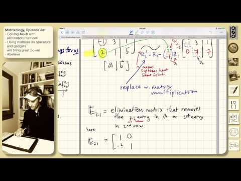 3a: The way of the Elimination Matrix