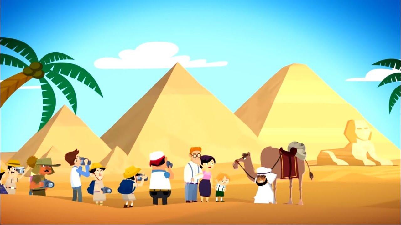 Фиксики - История вещей - Пирамиды / Fixiki