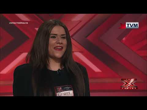 X Factor Malta - Auditions - Day 5 - Janice Mangion