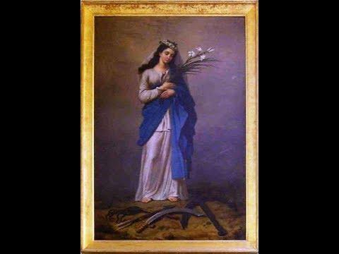 St Philomena, Virgin & Martyr (11-Aug feast day)