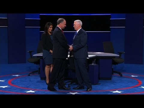 U.S. ELECTIONS 2016: VICE PRESIDENTIAL CANDIDATES DEBATE