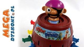 Wybuchający pirat !!! - Beczka Pirata - gra imprezowa - Tomy