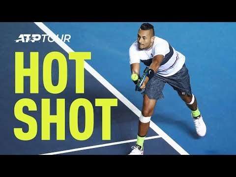 Hot Shot: Kyrgios Produces Moment Of Magic vs. Nadal At Acapulco 2019