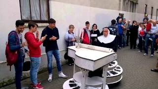 crazy nun Spraoi Waterford 2015