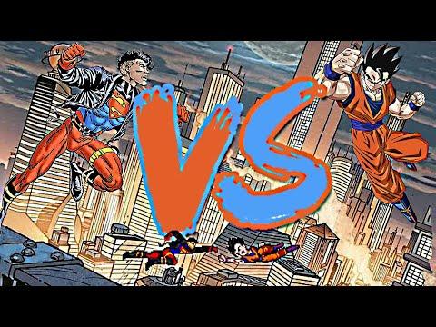 Superboy vs Gohan