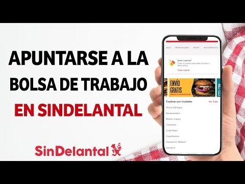 Cómo Apuntarse a la Bolsa de Trabajo de SinDelantal - Trabaja para SinDelantal como Repartidor
