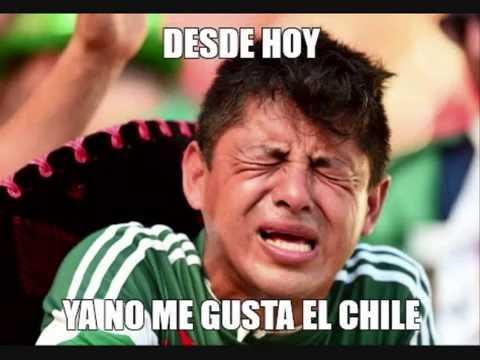 ¡Memes MÉXICO 0,7 CHILE graciosos y con comentarios sobre el FRACASO!