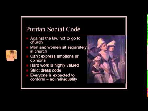 The Crucible pre-reading:  The Puritans