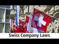 Swiss Company Laws
