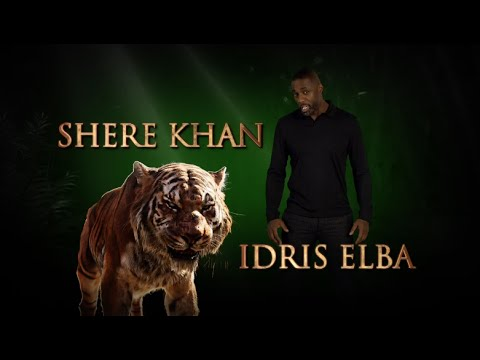 Meet the Voice of Shere Khan - Disney's The Jungle Book in Theatres Friday!