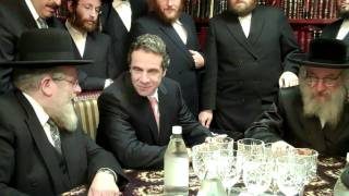 GOVERNOR ANDREW CUOMO MEETS RABBIS IN WILLIAMSBURG (BROOKLYN,NY)
