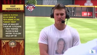 Kike Hernandez Hilarious Intentional Talk Interview