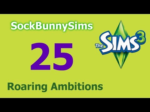 Sims 3 - Roaring Ambitions - Ep  25 - Boobytrap Gone Wrong