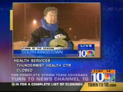 NBC10 WJAR Providence, RI  Storm Coverage Feb 17 2003
