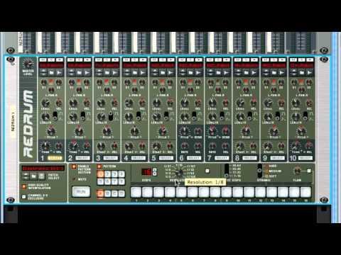 Intro to the Redrum Drum Computer