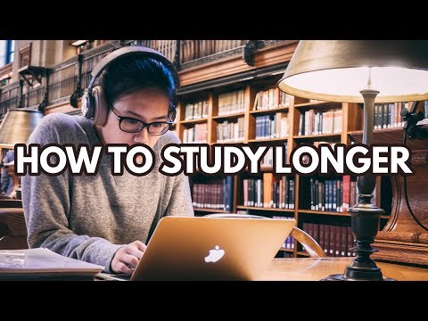 How To Study For Longer Periods