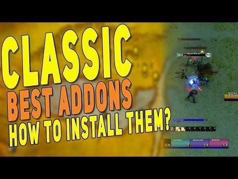 WoW Classic BEST ADDONS - How to Install Them & Must Have Addons for Leveling | Classic UI Guide