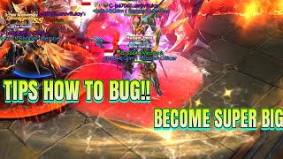 TIPS HOW TO BECOME SUPER BIG THE CHARACTER!! LEGACY OF DISCORD