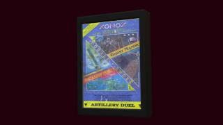Artillery Duel Ghost Manor atari 2600 chroma