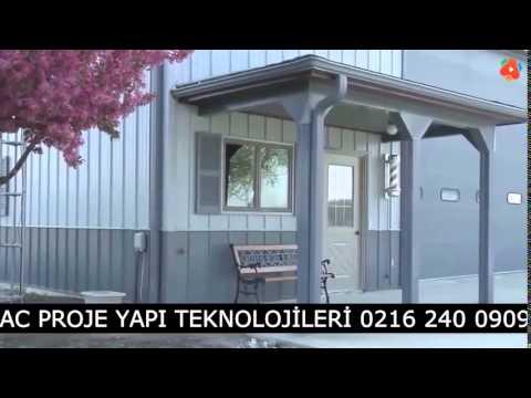 Prefabricated barn - Prefabrik Ahır