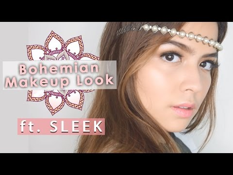 Bohemian Makeup Look feat. Sleek Makeup
