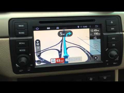 Update on BMW E46 Android KITKAT Navigation (TomTom)