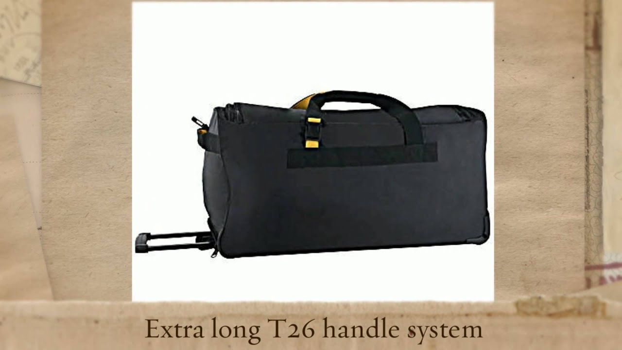 A.SAKS On The Go 31 inch Expandable Wheeled Duffel Bag - YouTube 6f7ac58dcfbde