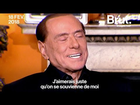 Silvio Berlusconi, 81 ans et toujours là