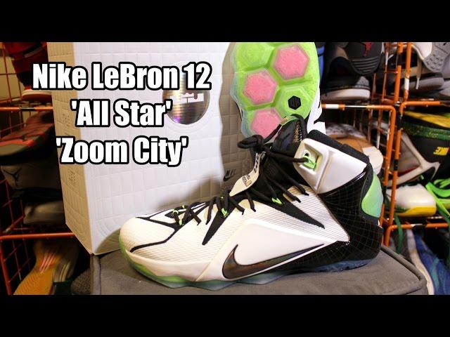 Nike LeBron 12 All Star Zoom City