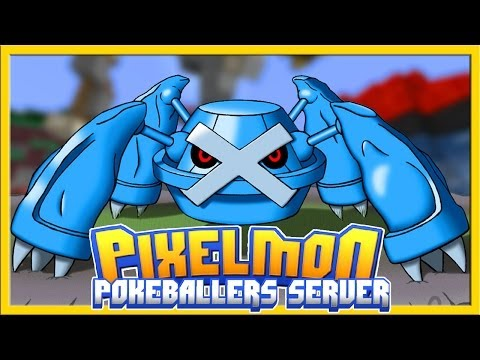 Steelix Cove GYM BATTLE | Pokeballers Pixelmon Server
