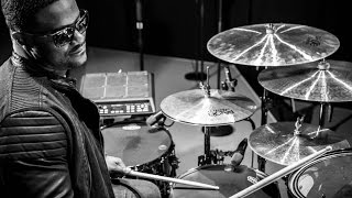 Adele's rhythm section on their Roland Hybrid Drums setups