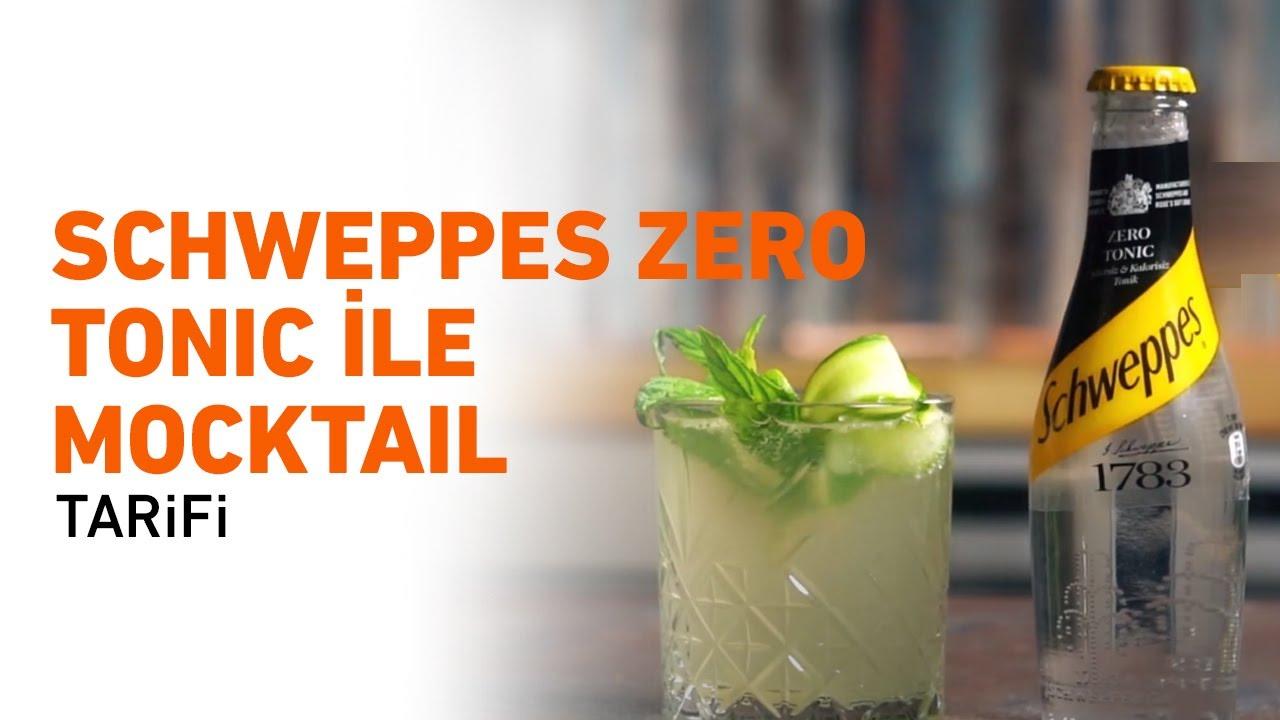 Schweppes Zero Tonic ile Mocktail Tarifi