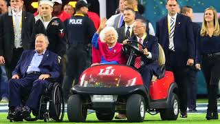 Barbara Bush, wife of ex President George H W  Bush, in 'failing health'