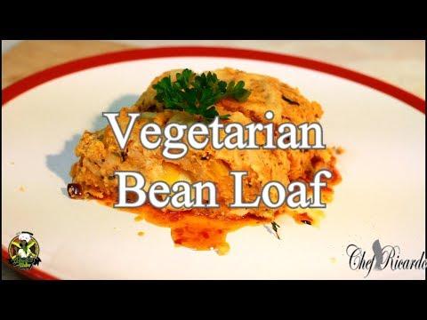 Vegetarian Bean Loaf/Christmas vegetarian recipe
