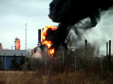 2012 British Petroleum Refinery Fire at Cherry Point Wash