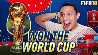 WINNING MY FIRST ONLINE WORLD CUP WITH STARTER SQUAD!! LIVE GAMEPLAY! | FIFA 18 ULTIMATE TEAM