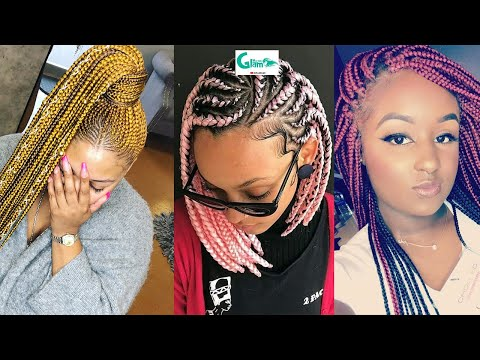 😍😍😍❤️rockiest-hairstyles!-popular-#awesome-hair-braiding-for-ladies:-latest-#2020-braids-hairstyles