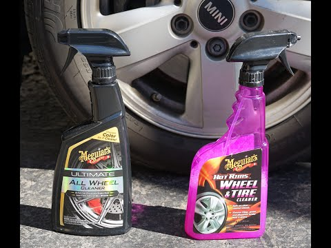 Meguiars Ultimate All Wheel Cleaner vs  Meguiar's Hot Rims Wheel Cleaner
