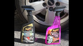 Meguiars Ultimate All Wheel Cleaner vs  Meguiar's Hot Rims Wheel Cleaner
