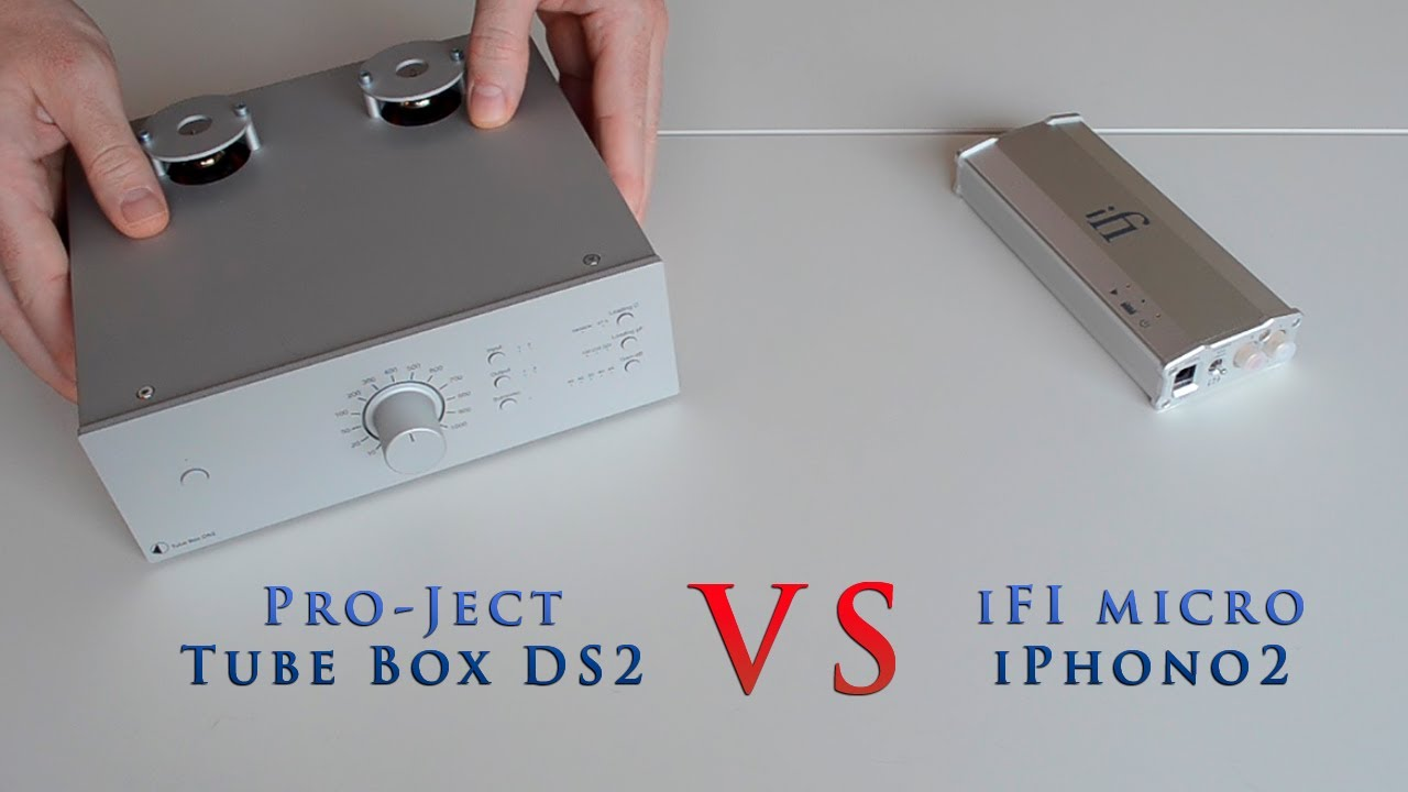 Pro-Ject Tube Box DS2 Silver Rosenut